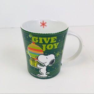 Peanuts Snoopy Give Joy Holiday Coffee/Tea Mug